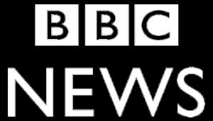 BBC News Logo White