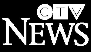 CTV News Logo White