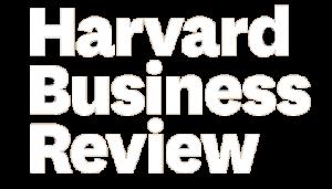Harvard Business Review Logo White